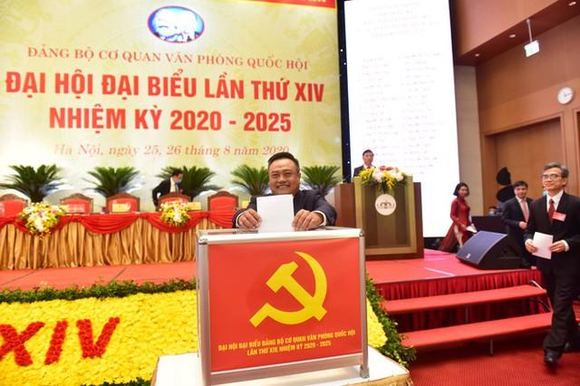 Ông Trần Sỹ Thanh được giới thiệu bầu làm Bí thư Đảng bộ cơ quan Văn phòng Quốc hội - Ảnh 1.
