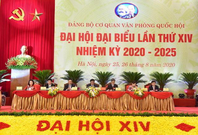 Ông Trần Sỹ Thanh được giới thiệu bầu làm Bí thư Đảng bộ cơ quan Văn phòng Quốc hội - Ảnh 2.