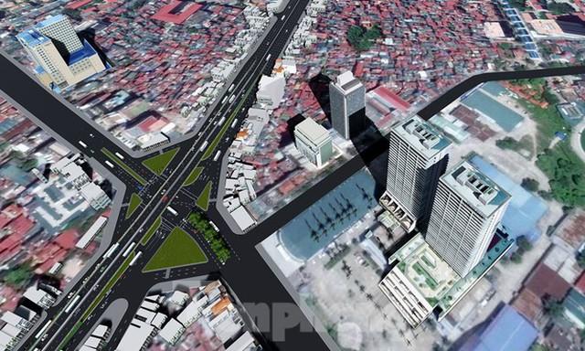 Hình ảnh thiết kế cầu vượt nút giao La Thành - Láng Hạ - Ảnh 2.