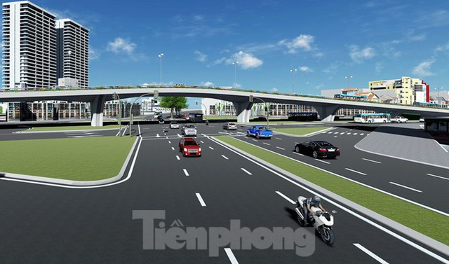 Hình ảnh thiết kế cầu vượt nút giao La Thành - Láng Hạ - Ảnh 11.