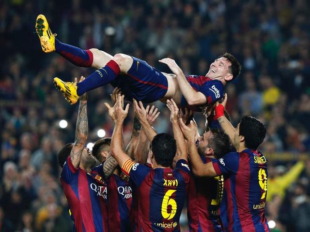 Bồi hồi nhìn lại cuộc hành trình đã qua của Messi với Barca: Gần 2 thập kỷ tận hiến, giành về vô số danh hiệu cùng kỷ lục - Ảnh 12.