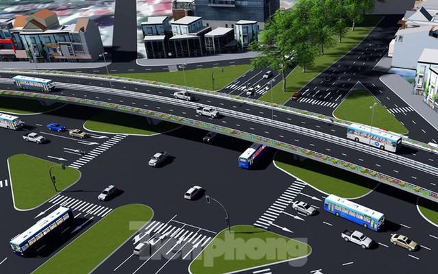 Hình ảnh thiết kế cầu vượt nút giao La Thành - Láng Hạ - Ảnh 4.