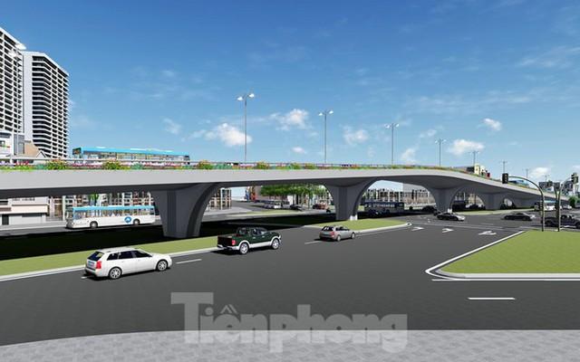 Hình ảnh thiết kế cầu vượt nút giao La Thành - Láng Hạ - Ảnh 5.