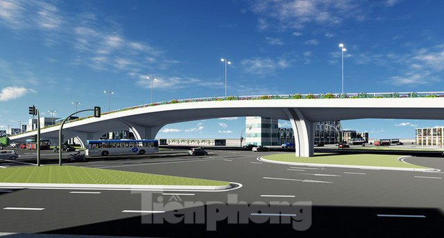 Hình ảnh thiết kế cầu vượt nút giao La Thành - Láng Hạ - Ảnh 6.