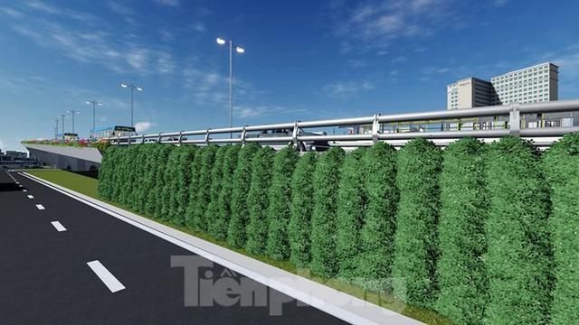 Hình ảnh thiết kế cầu vượt nút giao La Thành - Láng Hạ - Ảnh 9.