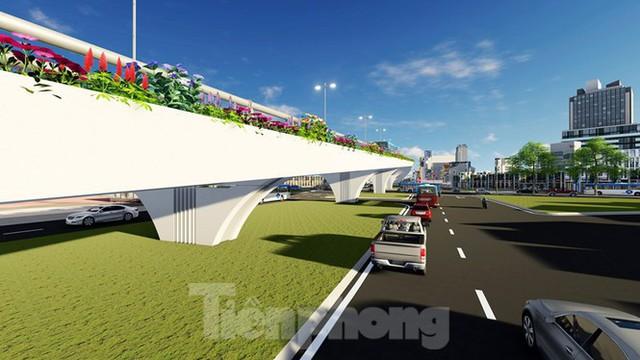 Hình ảnh thiết kế cầu vượt nút giao La Thành - Láng Hạ - Ảnh 10.