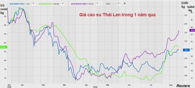 Triển vọng ảm đạm của ngành cao su Thái Lan  - Ảnh 1.