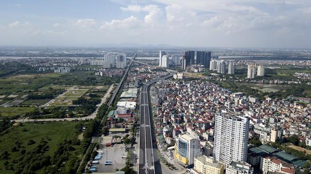 Diện mạo 3 dự án giao thông trọng điểm của Hà Nội sắp thông xe - Ảnh 1.