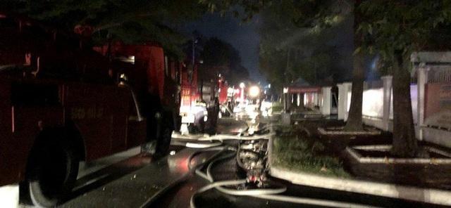 Cháy lớn ở nhà kho Công ty Sunhouse - KCN Tân Tạo - Ảnh 3.