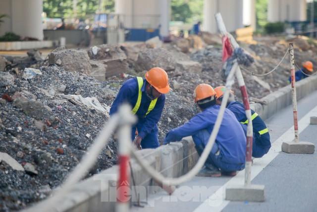 Diện mạo 3 dự án giao thông trọng điểm của Hà Nội sắp thông xe - Ảnh 4.
