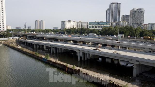 Diện mạo 3 dự án giao thông trọng điểm của Hà Nội sắp thông xe - Ảnh 6.