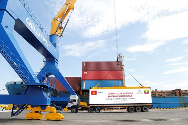 Thaco xuất khẩu xe Kia sang Myanmar - Ảnh 1.