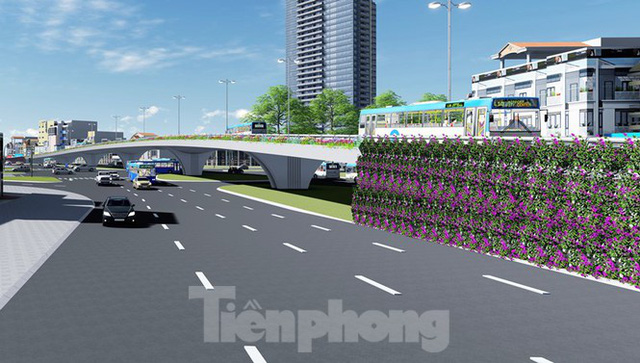 Hình ảnh thiết kế cầu vượt nút giao La Thành - Nguyễn Chí Thanh - Ảnh 8.