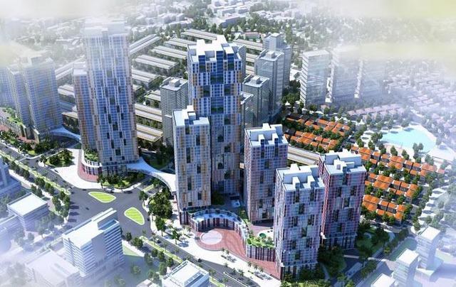 Một phần của dự án 10.000 tỷ đồng ở Hà Nội trở thành những khối nhà hoang - Ảnh 1.