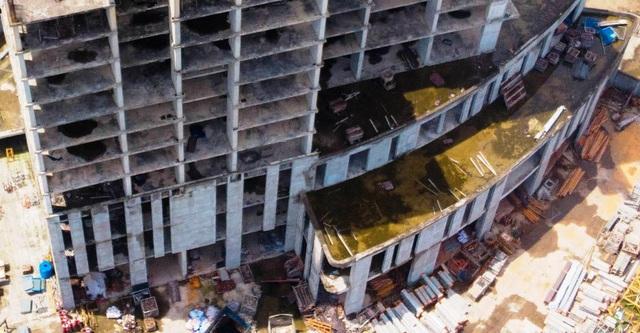 Một phần của dự án 10.000 tỷ đồng ở Hà Nội trở thành những khối nhà hoang - Ảnh 6.