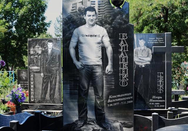 Thăm thú nghĩa trang mafia độc đáo ở Nga: Khi còn sống khét tiếng bao nhiêu, lúc nhắm mắt cũng hoành tráng bấy nhiêu - Ảnh 6.