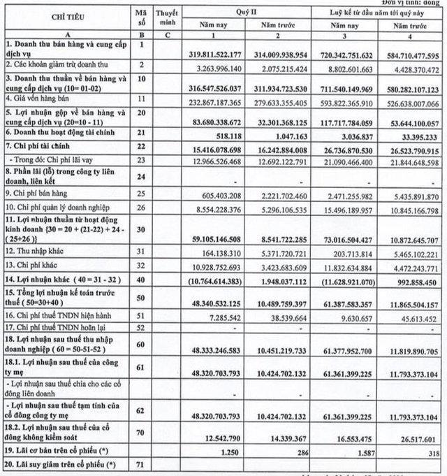 QNC: Quý 2 lãi 48 tỷ đồng, cao gấp gần 5 lần cùng kỳ - Ảnh 1.