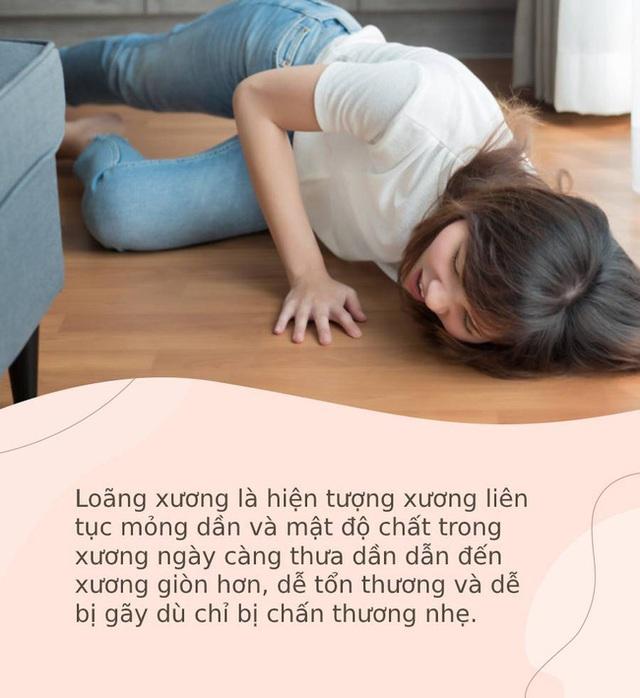 Phụ nữ dễ bị loãng xương khi bước vào thời kỳ mãn kinh, nhưng chỉ cần làm tốt 4 việc này khi còn trẻ thì cả đời sẽ không cần lo vấn đề này nữa - Ảnh 1.