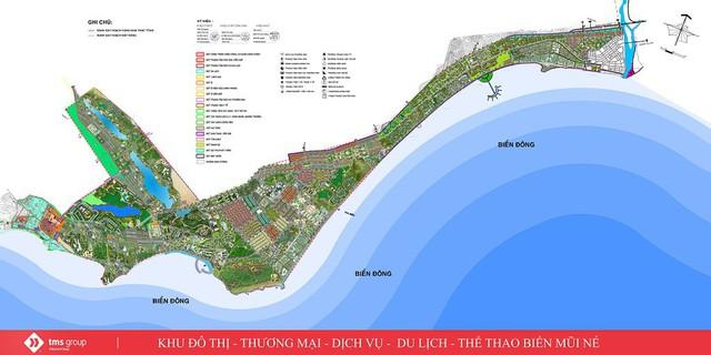 Dù nhiều dự án BĐS bị phạt, kiểm tra... TMS Group vẫn tham vọng làm chủ loạt siêu đô thị trải dài khắp cả nước - Ảnh 3.