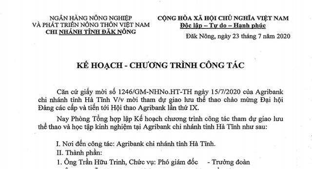 Agribank Đắk Nông đưa đoàn ra miền Trung... giao lưu thể thao  - Ảnh 2.