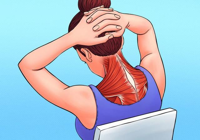 Có 5 vị trí trên cơ thể hay bị đau mỏi nhất, bao gồm cả cổ, vai: Làm ngay việc này để giảm căng thẳng ở những vùng cơ thể đó - Ảnh 1.