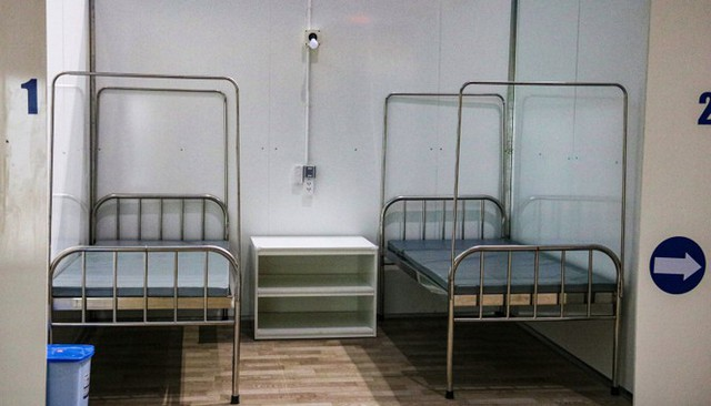 Bệnh viện dã chiến 700 giường hoàn thành sau 4 ngày thần tốc thi công - Ảnh 7.