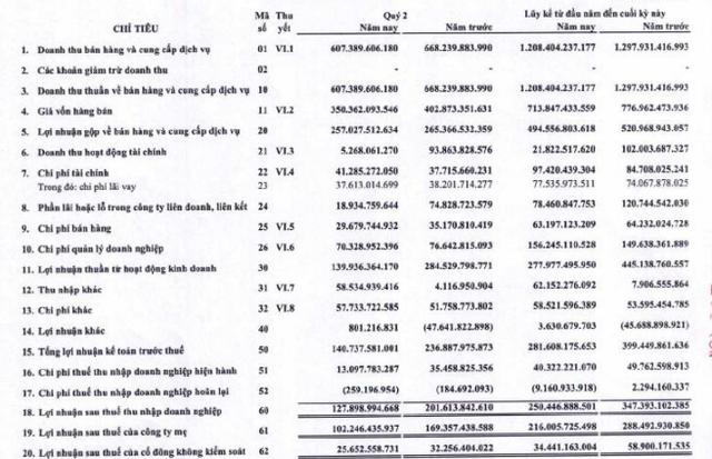 Gemadept (GMD) báo lãi 250 tỷ đồng nửa đầu năm, hoàn thành 50% chỉ tiêu lợi nhuận theo kịch bản tốt nhất năm - Ảnh 1.