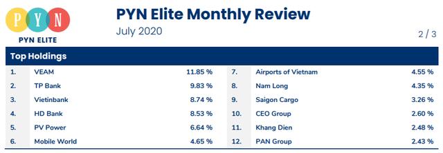 Hiệu suất danh mục Pyn Elite Fund âm hơn 13% trong 7 tháng đầu năm 2020 - Ảnh 1.