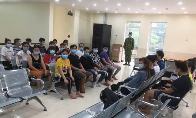 27 người nhập cảnh trái phép từ Trung Quốc vào Lạng Sơn - Ảnh 1.
