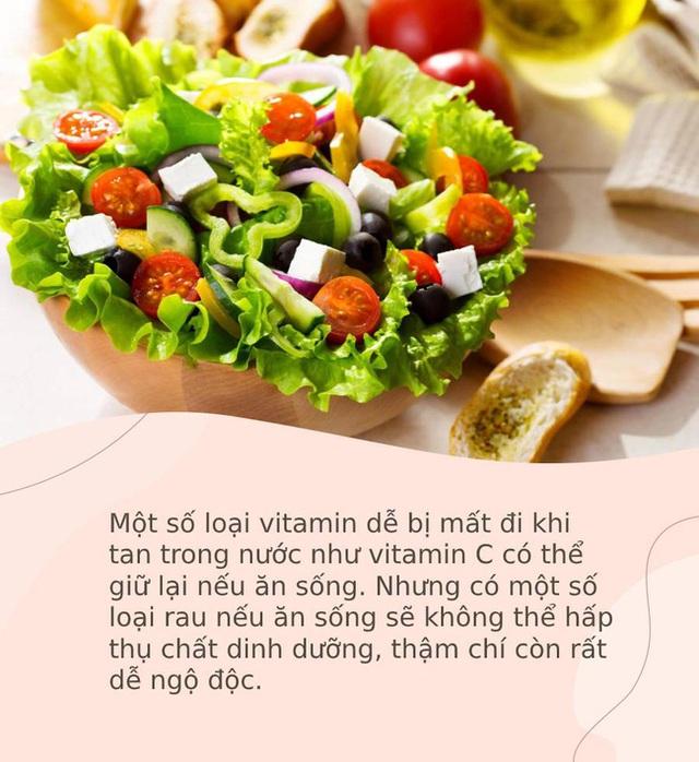 4 loại rau tuyệt đối không nên ăn sống, vừa không hấp thụ dinh dưỡng mà còn dễ ngộ độc - Ảnh 1.