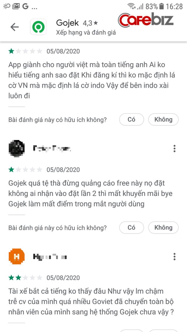 Gojek Việt Nam ngày chào sân: Quá tải lượng truy cập phải ngưng tặng nước miễn phí trước hạn, khách hàng gặp khó khi app mặc định mã vùng Indonesia thay vì +84 của Việt Nam  - Ảnh 1.