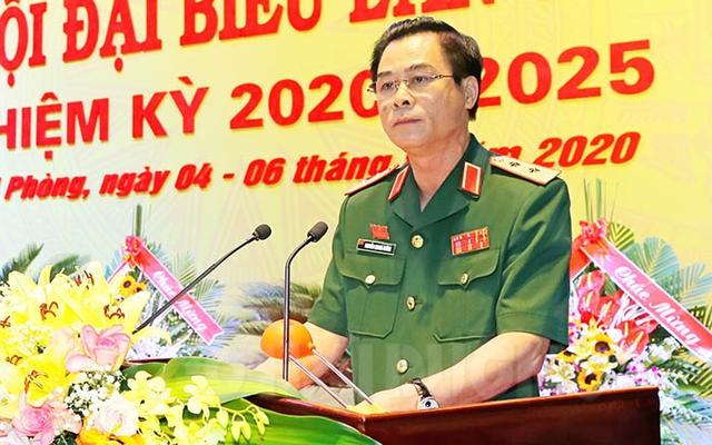 Trung tướng Nguyễn Quang Cường được bầu giữ chức Bí thư Đảng ủy Quân khu 3 - Ảnh 1.