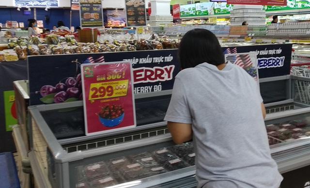 Cherry giảm giá sập sàn, nhà nhập khẩu lo lỗ vốn  - Ảnh 1.