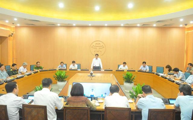 Chủ tịch Nguyễn Đức Chung: 15-20/8 là các ngày cao điểm, có thể phát hiện ca mắc Covid-19 mới ở Hà Nội - Ảnh 1.