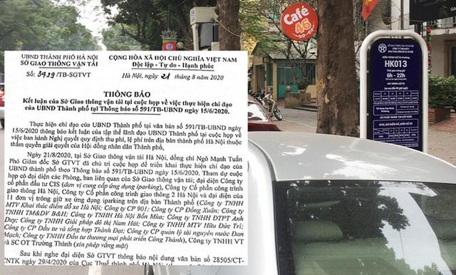 Trông xe theo iParking bị gỡ bỏ trên phố Hà Nội - Ảnh 5.