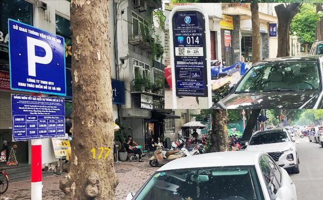 Trông xe theo iParking bị gỡ bỏ trên phố Hà Nội - Ảnh 6.