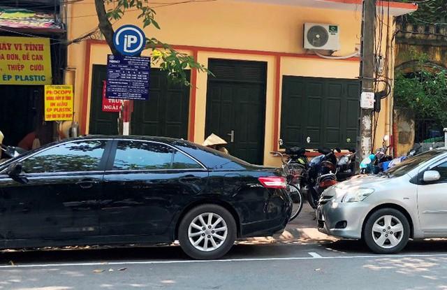 Trông xe theo iParking bị gỡ bỏ trên phố Hà Nội - Ảnh 9.