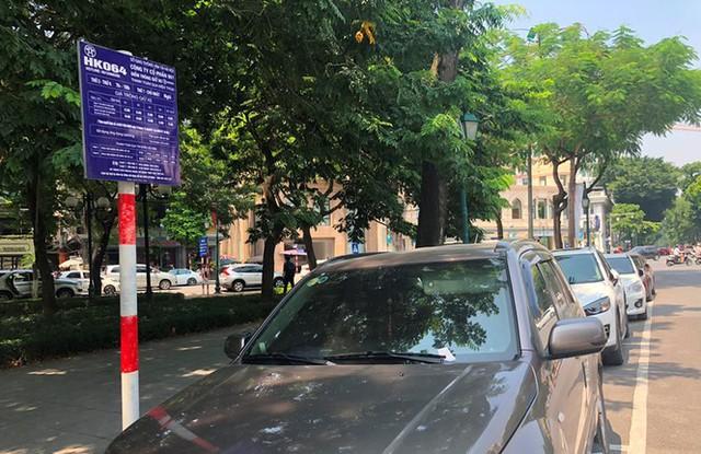 Trông xe theo iParking bị gỡ bỏ trên phố Hà Nội - Ảnh 10.