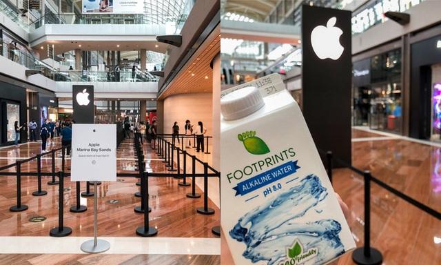 Tham quan Apple Store hình cầu nổi trên mặt nước vừa mới được khai trương tại Singapore - Ảnh 2.