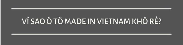 Vì sao ô tô Made in Vietnam mãi không rẻ, VinFast vì đâu lỗ nghìn tỷ cứ đâm đầu? - Ảnh 1.