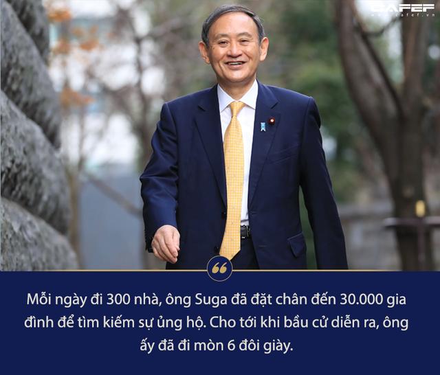 Chân dung người chắc ghế tân Thủ tướng Nhật Bản: Con nhà nông, đi mòn 6 đôi giày để vận động tranh cử - Ảnh 4.