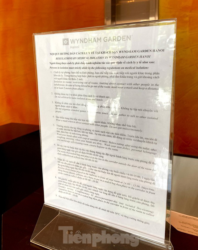 Khách sạn tại Hà Nội chuẩn bị ra sao khi được chọn làm nơi cách ly có thu phí - Ảnh 13.
