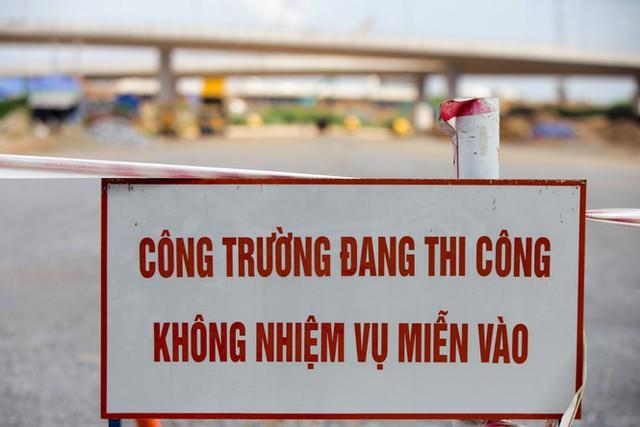 Toàn cảnh đại công trường 402 tỷ đồng nối vành đai 3 với cao tốc Hà Nội - Hải Phòng - Ảnh 14.