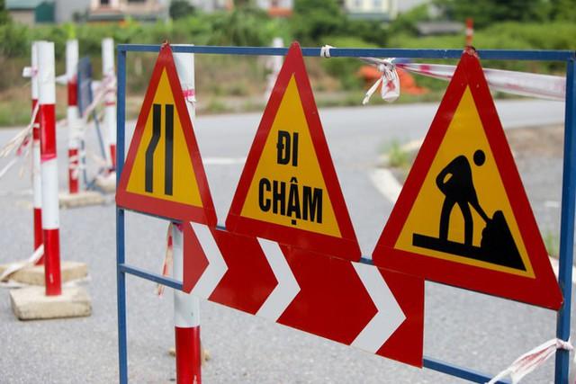 Toàn cảnh đại công trường 402 tỷ đồng nối vành đai 3 với cao tốc Hà Nội - Hải Phòng - Ảnh 4.