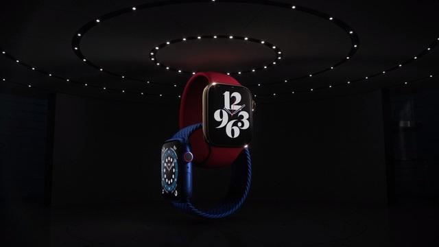 Apple Watch Series 6 ra mắt: Thiết kế không đổi, đo oxy trong máu, nhiều màu sắc và dây đeo mới, giá từ 399 USD - Ảnh 1.