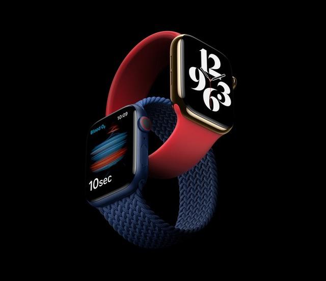 Apple Watch Series 6 ra mắt: Thiết kế không đổi, đo oxy trong máu, nhiều màu sắc và dây đeo mới, giá từ 399 USD - Ảnh 2.