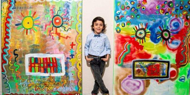 Thần đồng hội họa nhí từng được so sánh với Picasso và những bức tranh trừu tượng sở hữu mức giá trên trời - Ảnh 2.
