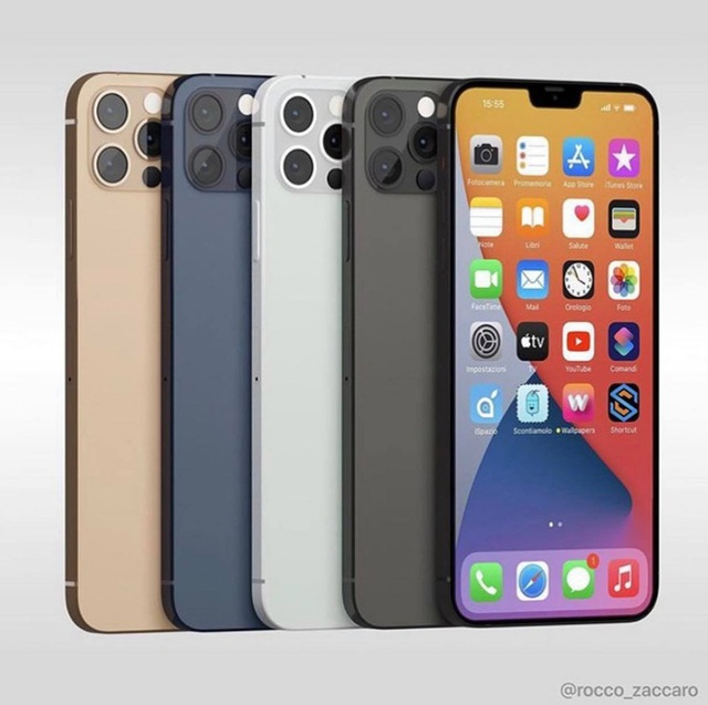 Phác thảo rõ nét nhất về iPhone 12 sau sự kiện Apple: sẽ có màu xanh navy, bán ra không có củ sạc - Ảnh 4.