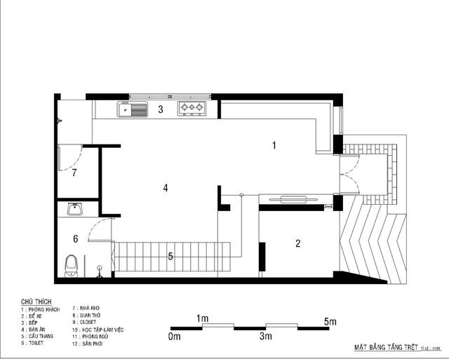 Nhà 2 tầng ở Bình Dương thiết kế sử dụng khoảng 20 năm với chi phí chưa tới 500 triệu đồng - Ảnh 9.