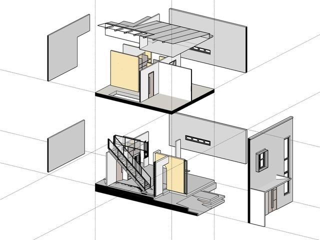 Nhà 2 tầng ở Bình Dương thiết kế sử dụng khoảng 20 năm với chi phí chưa tới 500 triệu đồng - Ảnh 10.
